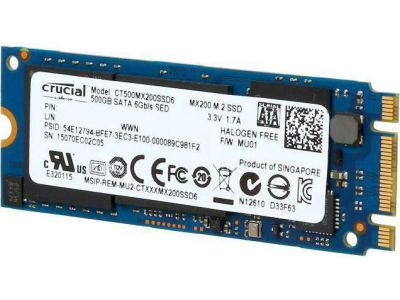 ssd crucial 500 ct500mx200ssd6 m2
