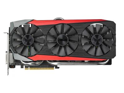 vga asus pci-e strix-r9390x-dc3oc-8gd5-gaming 8192ddr5 512bit dvi+hdmi+3dp box