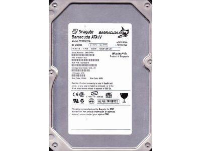discount obs hdd seagate 80 st380021a used