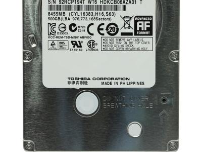 discount hddnb toshiba 500 mq01abf050 sata-iii used