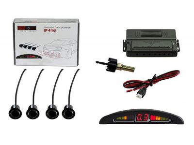 auto parking radar silverstone ip-416 black