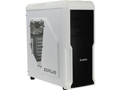 case zalman z3-plus bez bloka white