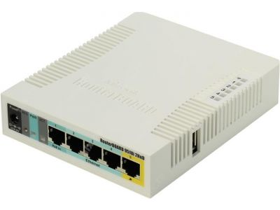 lan router mikrotik rb951ui-2hnd-by-112