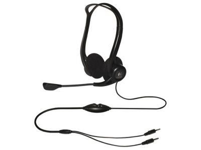 discount headphone logitech pc-headset-860 stereo used