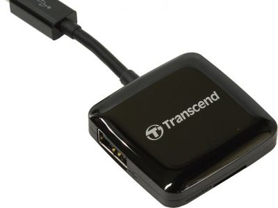 flash cardreader transcend ts-rdp9k black
