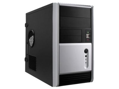 discount case inwin emr006 black bez bloka used