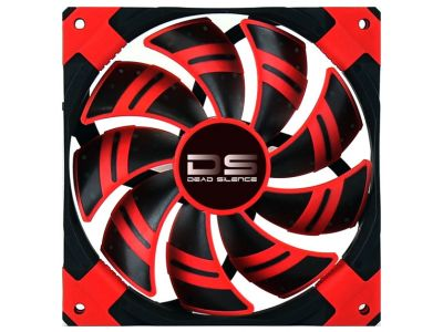 cooler aerocool ds 12СМ red