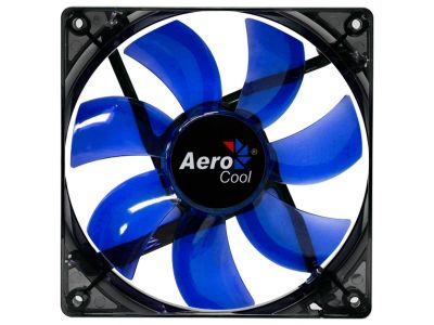 cooler aerocool lightning 12cm blue