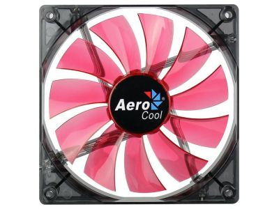 cooler aerocool lightning 14cm red