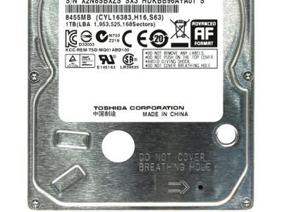 discount hddnb toshiba 1000 mq01abd100 used