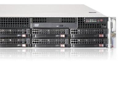 server supermicro i12 2u 2x e5-2609v4 32gb