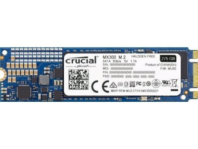 ssd crucial 275 ct275mx300ssd4 m2