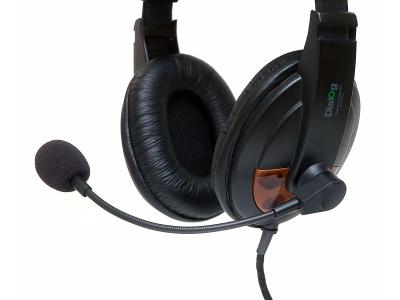 discount headphone dialog m-750hv likenew