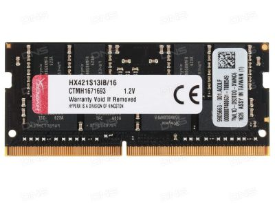 nbram ddr4 16g 2133  kingston hx421s13ib-16