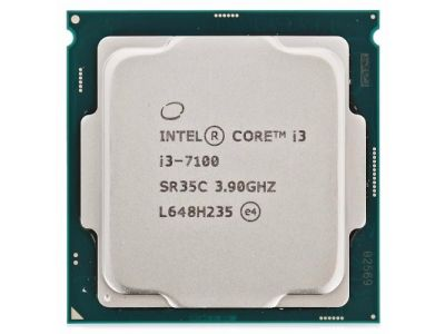 Процессор Intel, Soc-1151, Core i3-7100, BOX