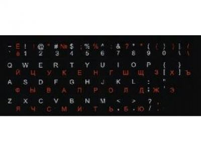 nbacs key-labels black