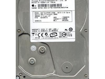 Жесткий диск 640GB, SATA-II, Hitachi, HDE721064SLA330/0A39991