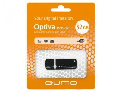 usbdisk qumo optiva-02 32g black