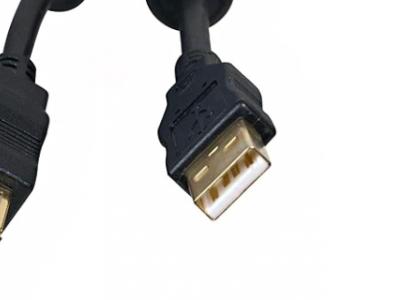 cable usb 2 aa 5bites 2ferrite 1m8