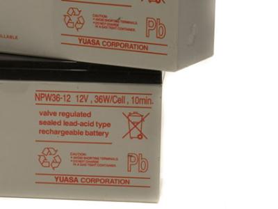 ups battery yuasa  npw36-12