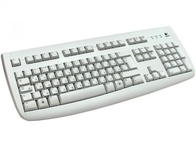 kbd logitech delux-250 grey ps