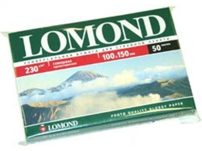 paper lomond 0102035 10x15 230g 50l glossy