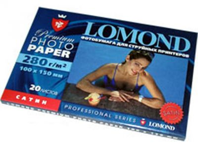 paper lomond 1104202 10x15 280g 20l satin