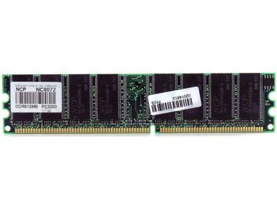 ram ddr 1g pc3200 ncp