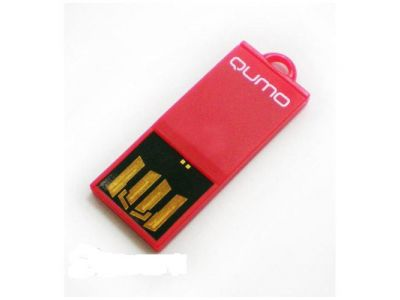 usbdisk qumo sticker 8g red