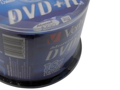 media dvd+r verbatim 4g7 16x matt-silver cake50
