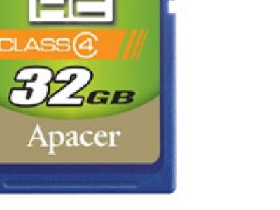 flash sdhc 32g class4 apacer ap32gsdhc4-r