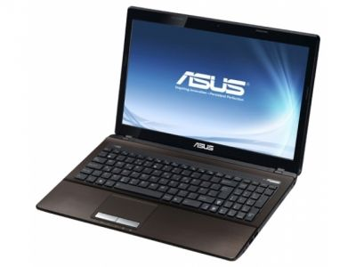 nb asus k53sc-sx406d 2330m 3gb 320gb brown likenew
