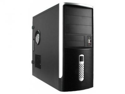 discount case inwin ear001 rb-s450hq7 black-silver damaged