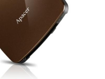 flash cardreader apacer am530 brown