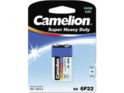 other battery camelion 6f22 krona