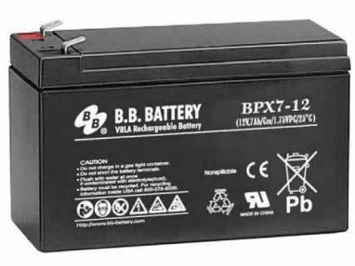 ups battery bb-battery bpx7-12 12v 7ah