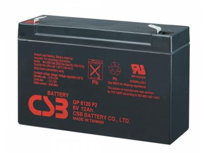 ups battery csb gp6120 6v 12ah