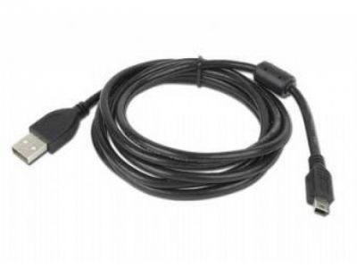cable usb 2 mini 5p ccf-usb2-am5p-6 w/ferrite