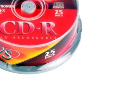 media cdr vs 700 52x cake25