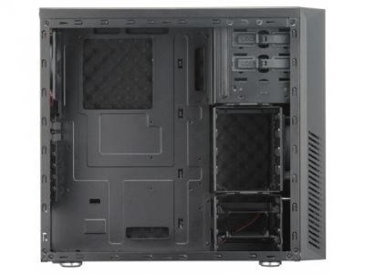 case coolermaster rc-550l-kkn1 silencio 550 leather-carbon-black bez bloka