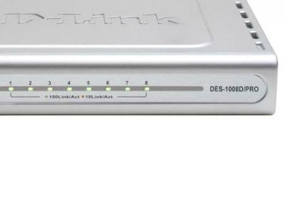 lan hub d-link des-1008d-pro