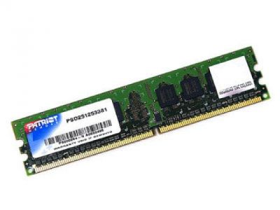 ram ddr2 4g 800 patriot kit2