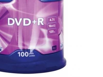 media dvd+r verbatim 4g7 16x matt-silver cake100