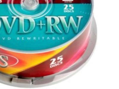 media dvd+rw vs 4x cake25