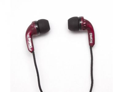 headphone dialog ep-121v red