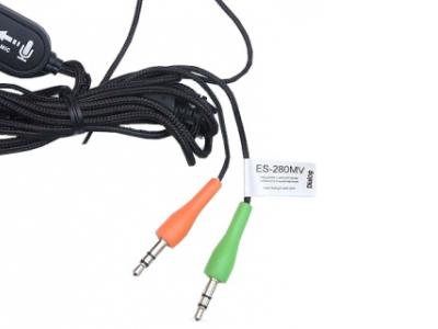 headphone dialog es-280mv red