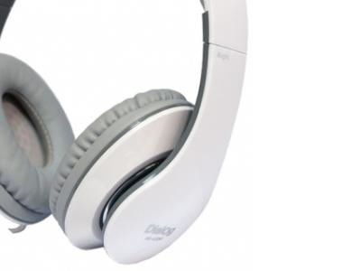 headphone dialog hs-a20m+microphone white