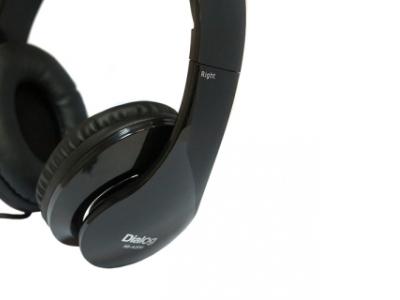 headphone dialog hs-a20m+microphone black