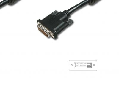 cable digitus dvi-dvi ak320100-020-s 2m