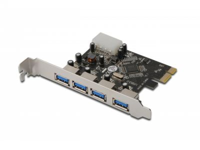 adapter digitus ds-30221 pci-e 4usb3-0